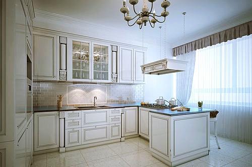 Kuchnia w stylu prowansalskim Jakie meble, ściany, podłoga, dodatki?  Aranż   -> Kuchnia Rustykalna Zdjecia